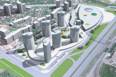 проект Юл ай строительства жилого квартала